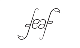 Leaf ambigram