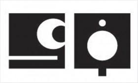 Square/Circle figure/ground ambigram