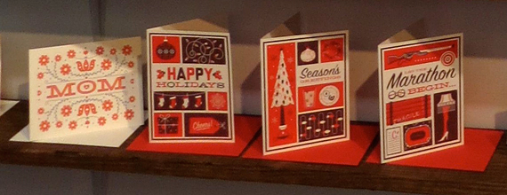 Fifty Five Hi's retro holiday cards