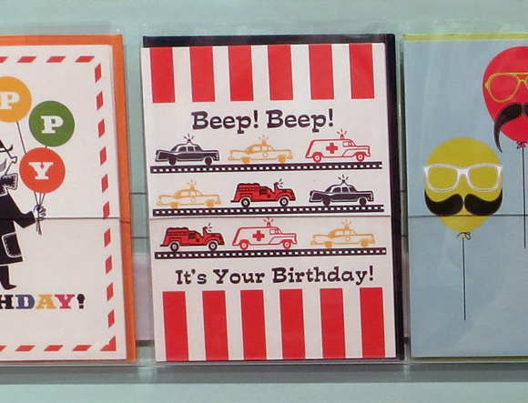 Fresh Frances Beep Beep card