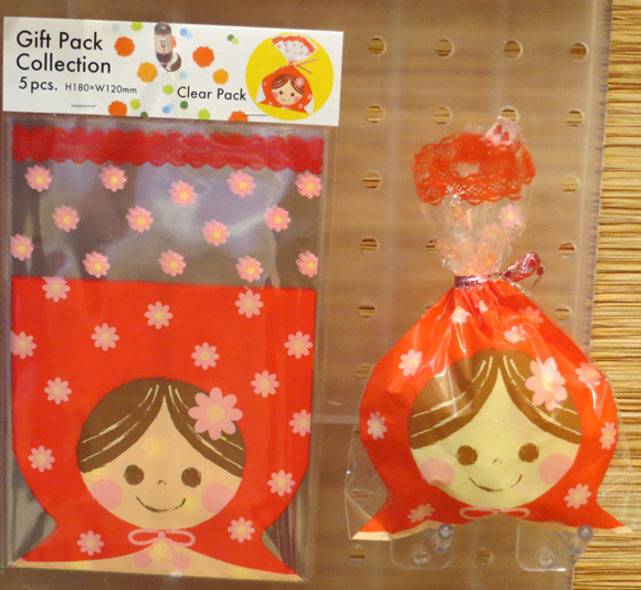 Ginko Papers' girl gift bags