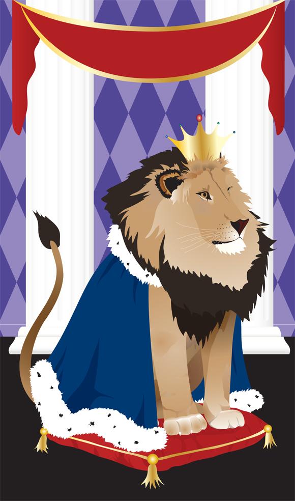 Lion King greetng card art