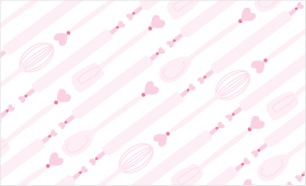 Valentine Kitchen Utensils pattern