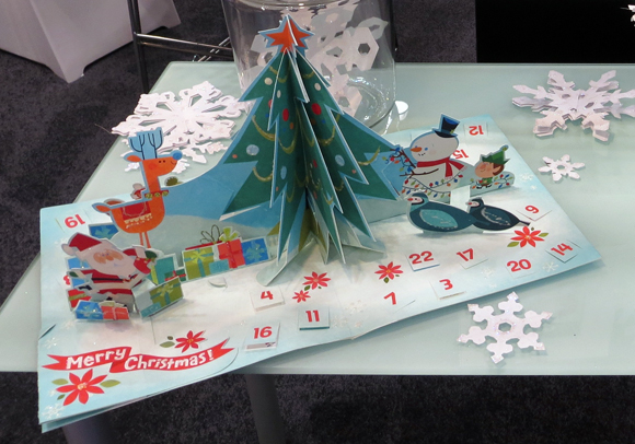 Up With Paper pop-up advent calendar