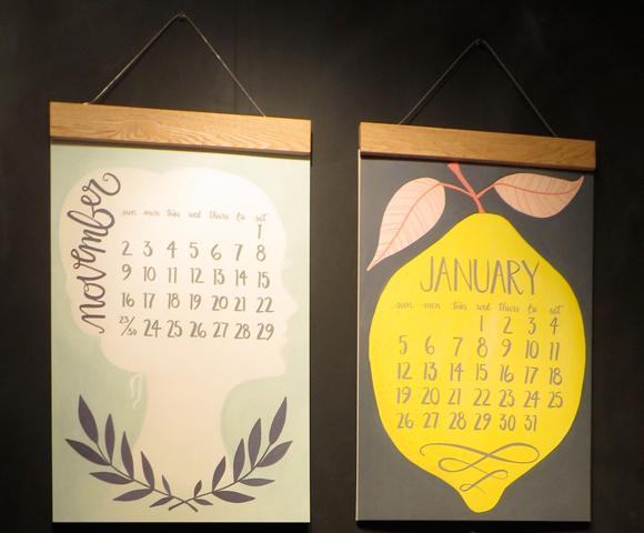 1canoe2 oversized calendar