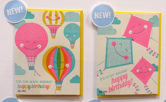 Hello!Lucky birthday cards