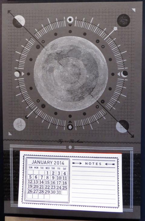 Hammerpress moon calendar