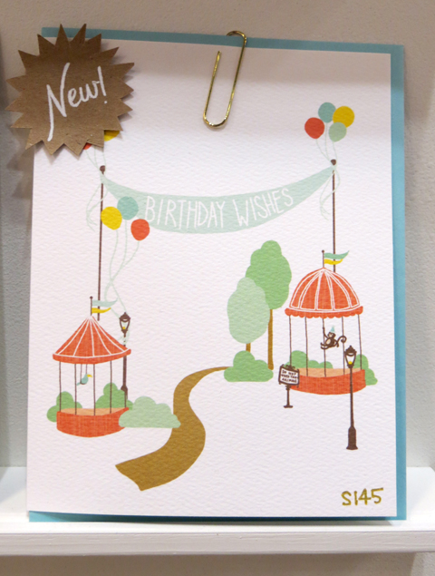 Kate & Birdie zoo birthday card