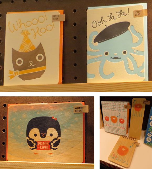 Night Owl Paper Goods kid-friendly cards and notepads