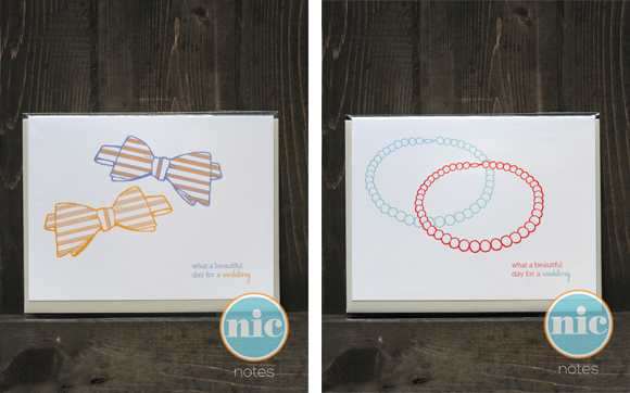 "The Nic Studio ""beautiful day for a wedding"" cards"