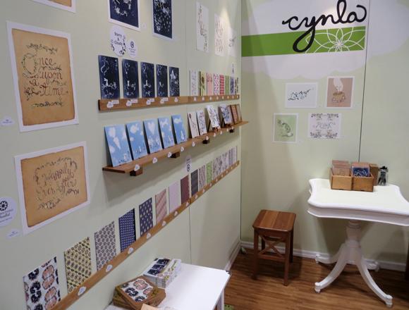 Cynla booth