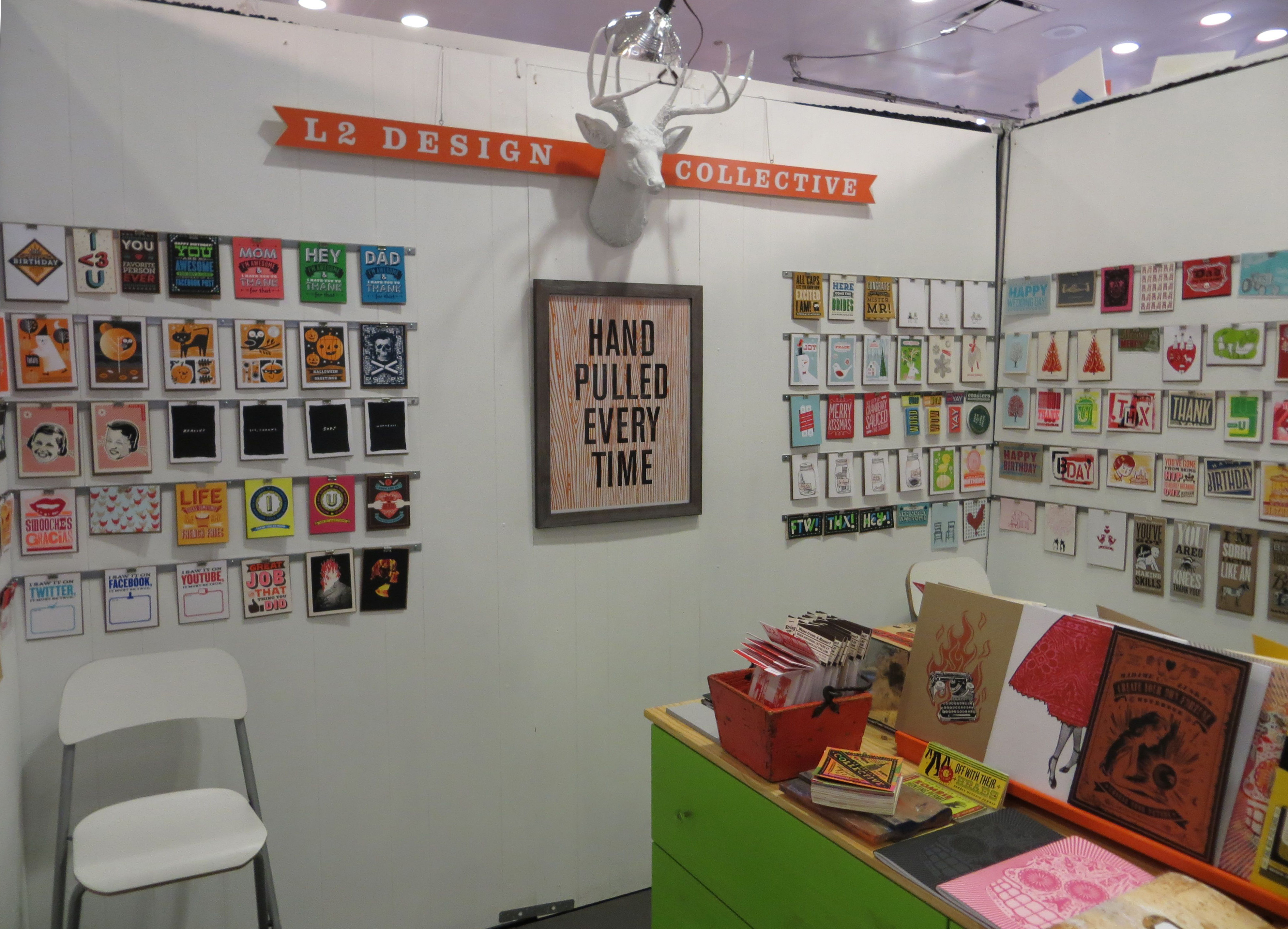 L2 Design Collective booth