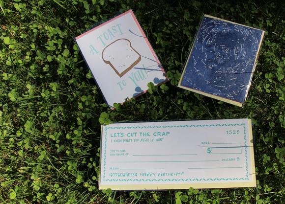 Ladyfingers Letterpress cards