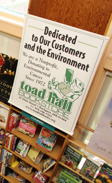 Toad Hall Book Store - a nonprofit organization