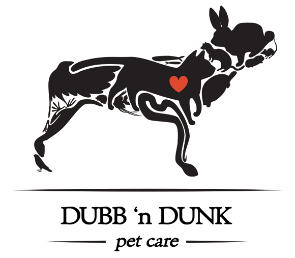Dubb 'n Dunk Pet Care logo