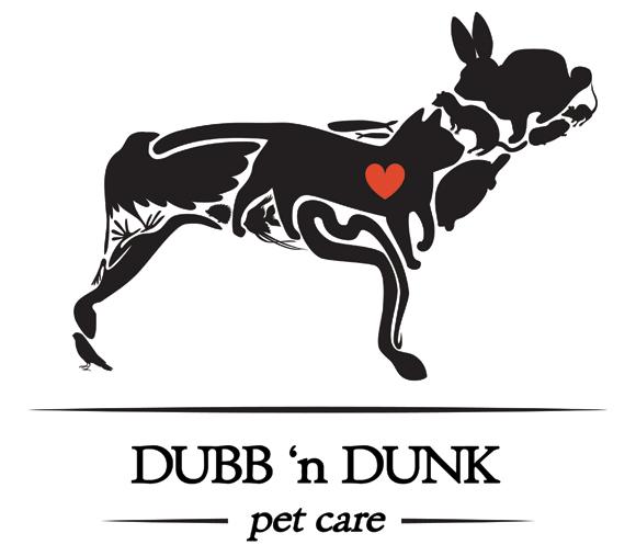 Dubb 'n Dunk Pet Care logo