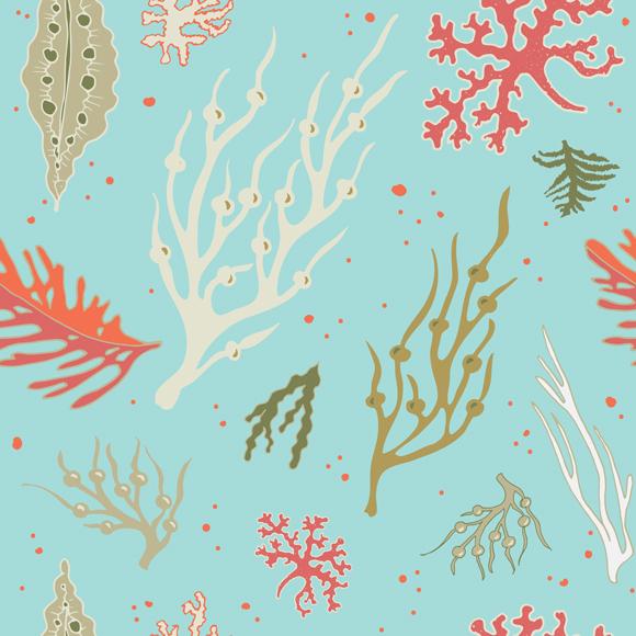 Seaweed repeat pattern