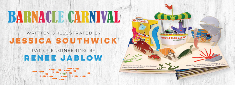 <i>Barnacle Carnival</i> pop-up book