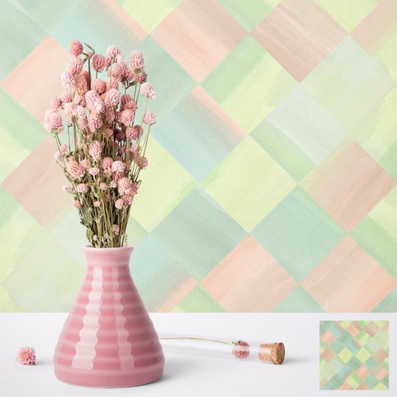Pastel Basketweave pattern. © 2018 Jesswick Creative Studio, LLC.