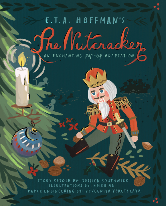 THE NUTCRACKER cover image. © 2018 Jumping Jack Press.